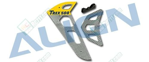 TRex 500 Fibreglass Vertical Stabalizer 1.6mm
