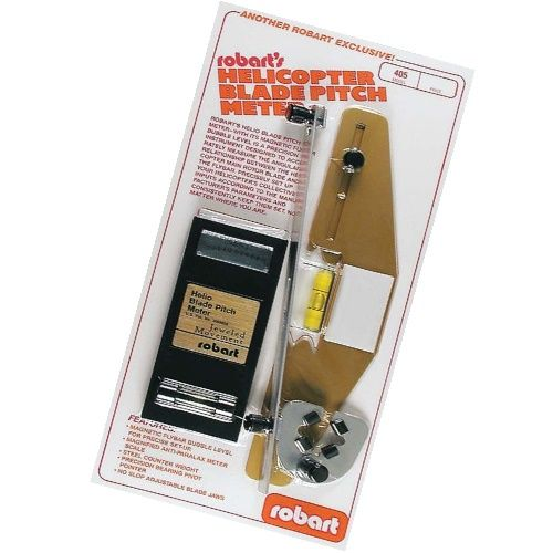 ROBART HELICOPTER BLADE PITCH METER