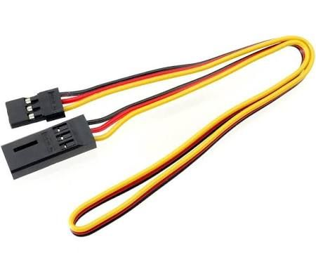 HITEC STYLE 22AWG SERVO EXTENSION LEAD 150mm
