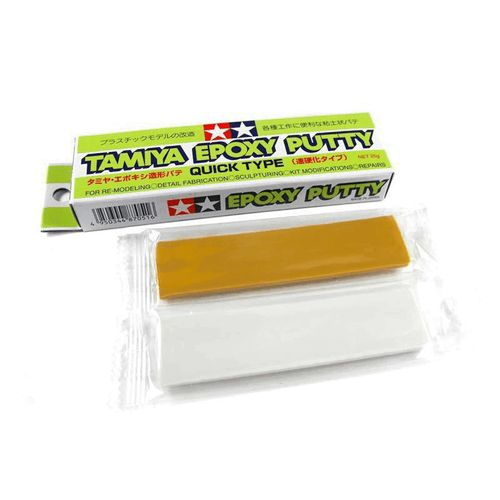 TAMIYA EPOXY PUTTY QUICK CURE 25g