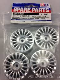 18 SPOKE WHEEL SET (4)