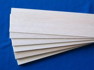 BALSA SHEET 2.5X75X915mm