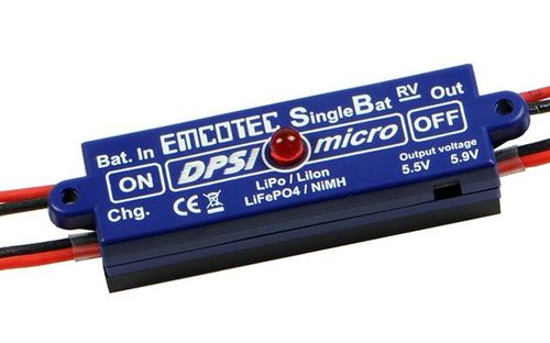 EMCOTEC DPSI SINGLE BATTERY REGULATED POWER SWITCH