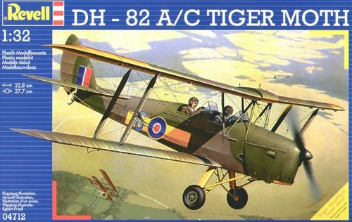REVEL DH-82A/C TIGER MOTH