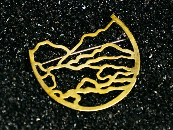 Riparian Area Brooch by The Tiny Torch