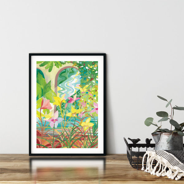 Danielle Tay's  Magical Place 3 printed on Acid Free Fine Art Paper