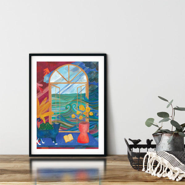 "Danielle Tay's ""Soleil"" Giclee Prints in Singapore"