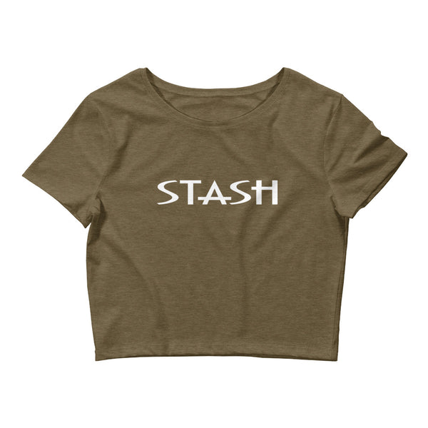 STASH Crop Tee