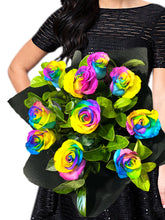 Load image into Gallery viewer, Rainbow Roses - Colour My World