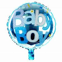 Baby Boy Balloon | McQueen's Florist Adelaide | Florist Delivery Adelaide