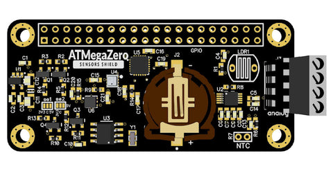 ATMegaZero Sensors Shield