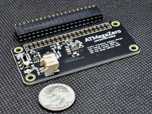 ATMegaZero LIPO Battery Shield compatible with the Raspberry Pi