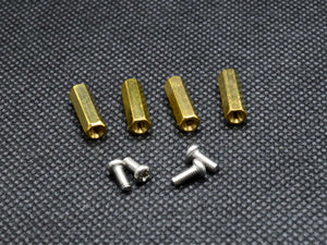 15mm M2.5 Female to Female Hex Brass Spacer Standoff