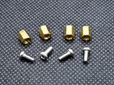 6mm M2.5 Female to Female Hex Brass Spacer Standoff