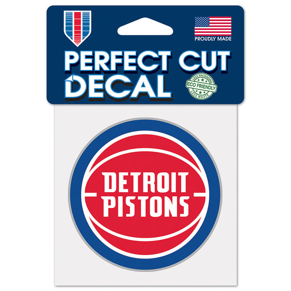 Detroit Pistons Perf Cut Decal