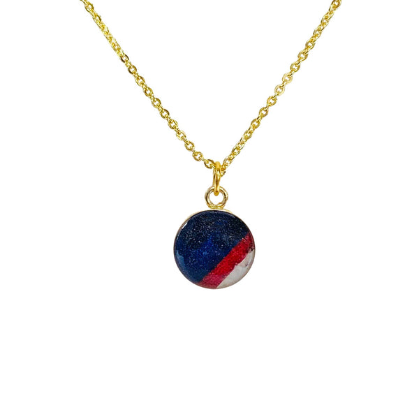 Pistons Motor City Jersey Amy Necklace