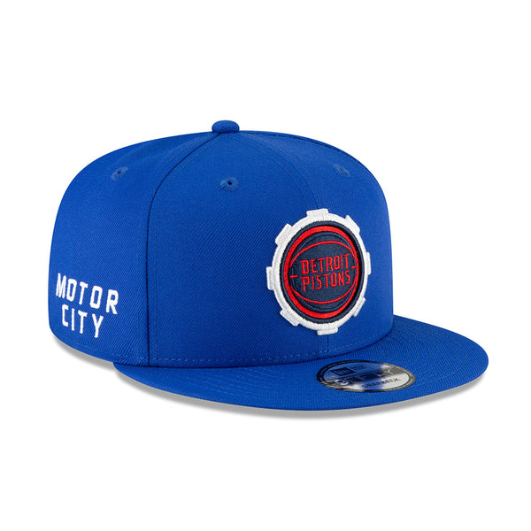 Detroit Pistons New Era City Edition 9FIFTY Snapback Hat