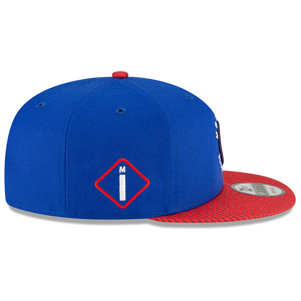 Detroit Pistons New Era City Edition 9FIFTY Alternate Snapback Hat