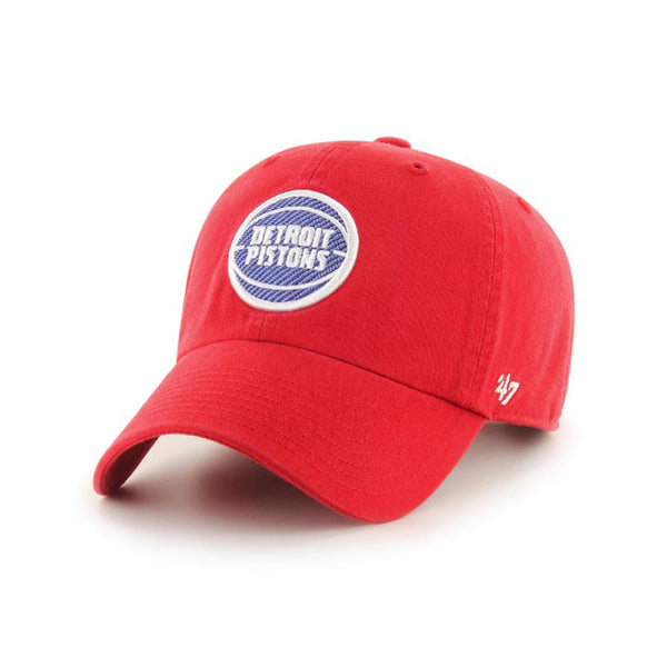 47 Brand Detroit Pistons Red Cleanup Hat