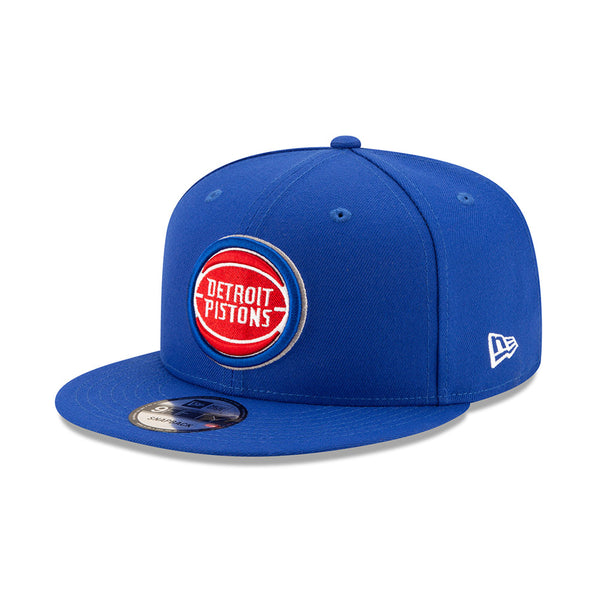 New Era Detroit Pistons Blue 9FIFTY Snapback Hat