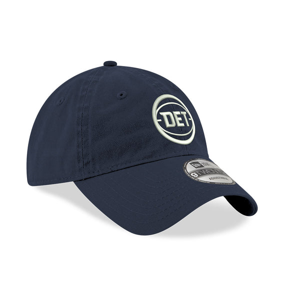Detroit Pistons New Era DET Navy 9TWENTY Adjustable Hat