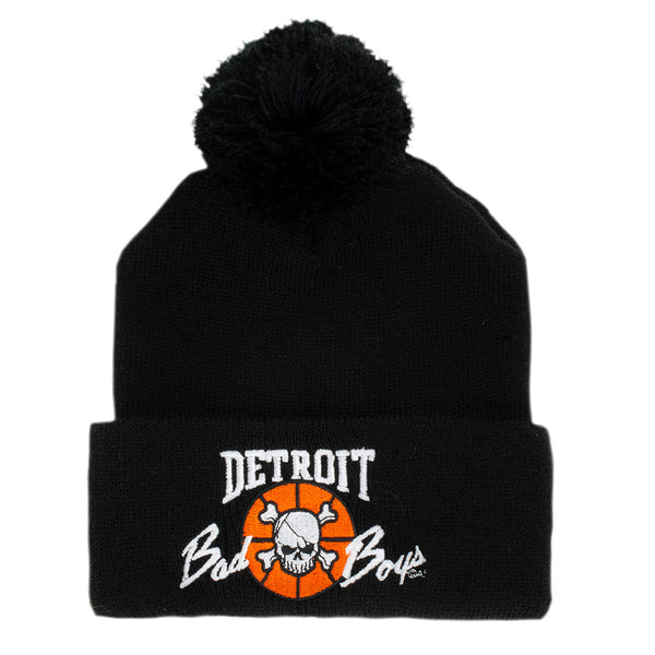 Detroit Bad Boys Black Cuff Knit