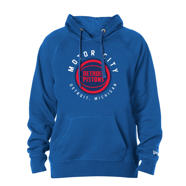 New Era Pistons City Edition Pullover Sweatshirt