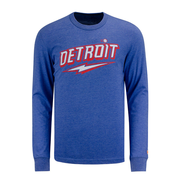 Homage Detroit 70's Throwback Long Sleeve T-Shirt