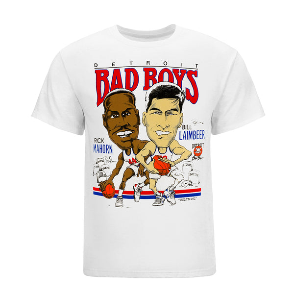 Detroit Bad Boys Rick Mahorn and Bill Laimbeer T-Shirt