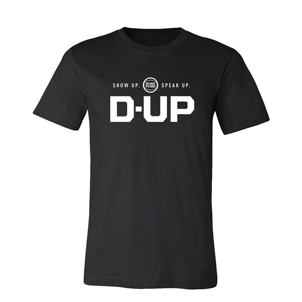 Unisex Pistons D-Up Statement T-Shirt