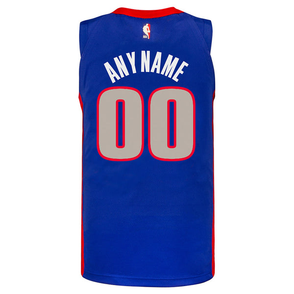 Detroit Pistons Personalized Nike City Edition Swingman Jersey