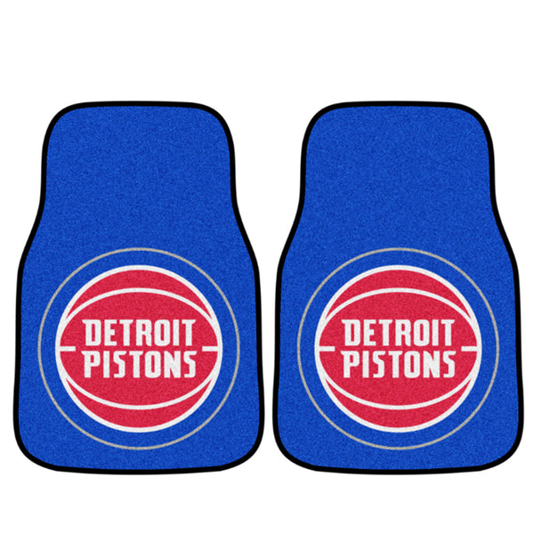 Pistons 2 Pack Carpet Car Mat Set