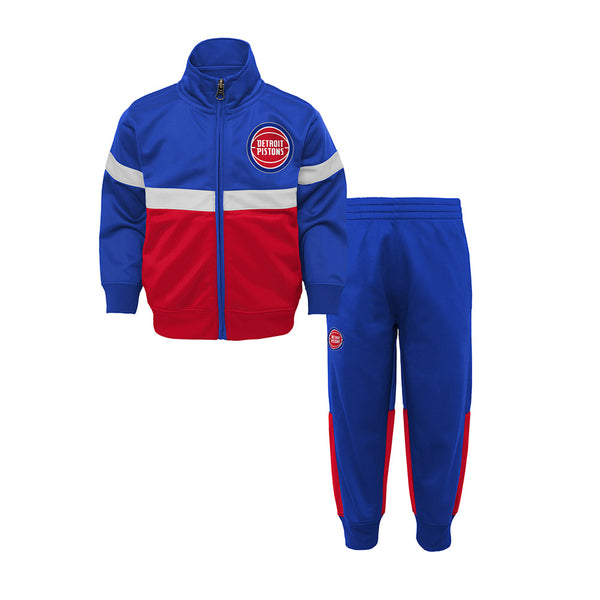 Toddler Outerstuff Pistons Tracksuit