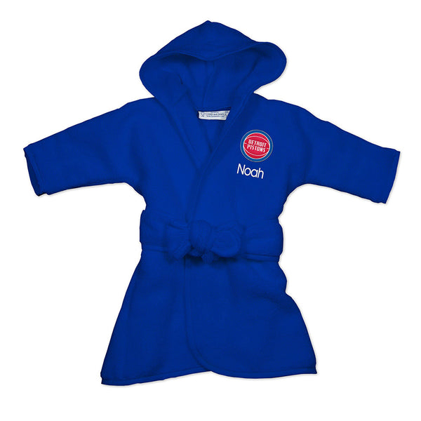Detroit Pistons Personalized Robe