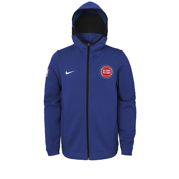 Youth Nike Pistons Showtime Full-Zip Jacket