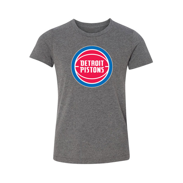 Youth Pistons Primary Team Logo T-Shirt