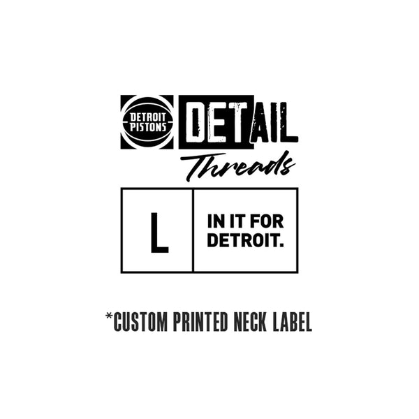 Youth Pistons DET Logo T-Shirt