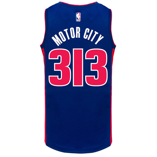 "Nike Icon ""MOTOR CITY"" Swingman Jersey"