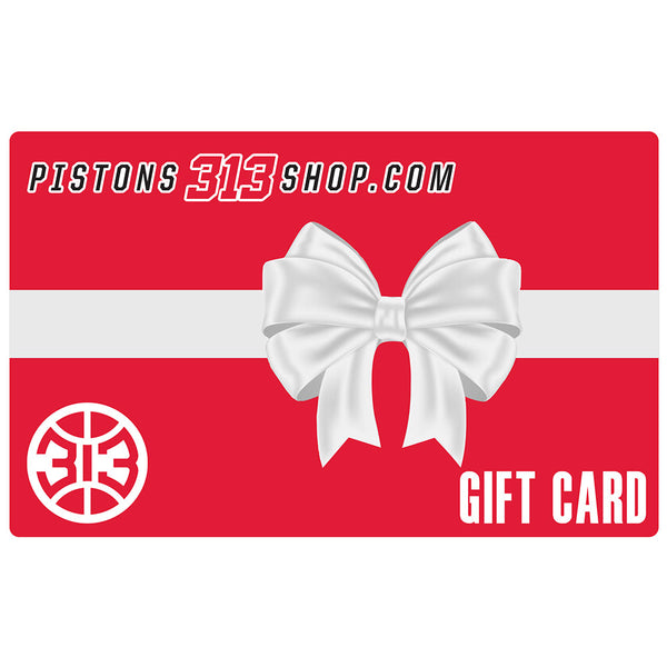 Pistons Gift Card