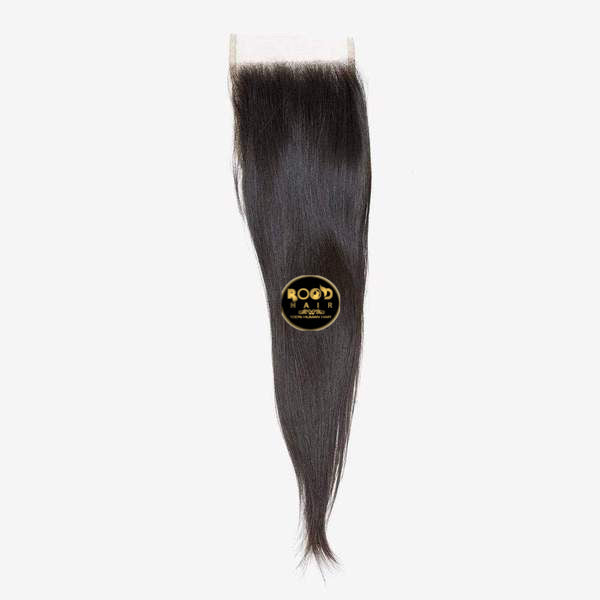 Raw Indian straight hair Lace closure