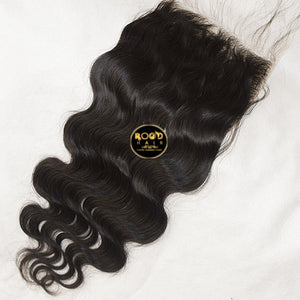 7x7 Raw Indian Body wave lace closure