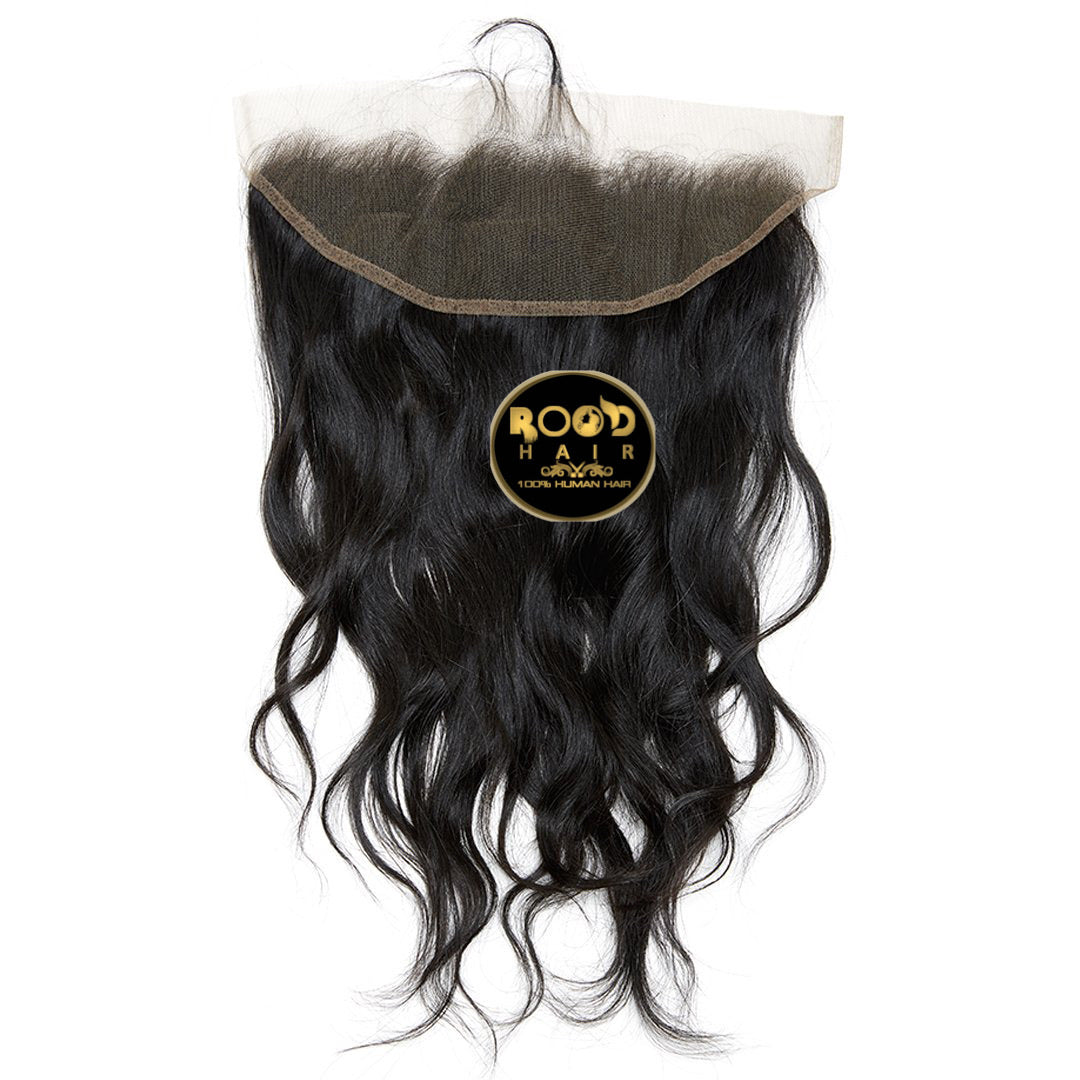 13x4 Raw Indian wavy lace frontal