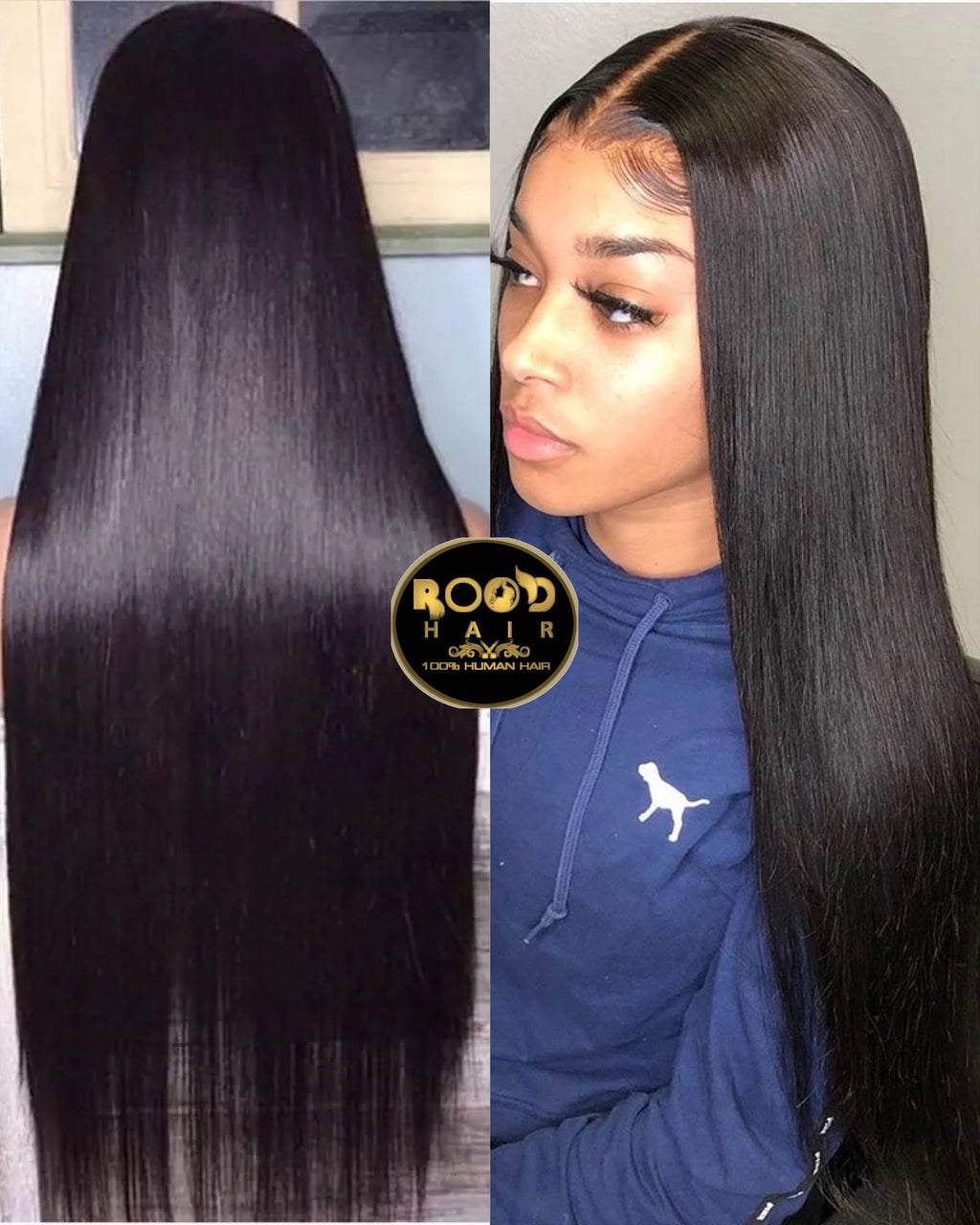 13*4 Straight Virgin Brazilian Lace front wig(180%)