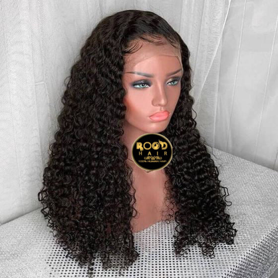 13x4 Lace front Jerry curly wig(180% density)