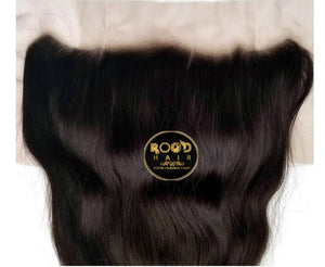 13x4 Lace frontal Raw Indian straight hair