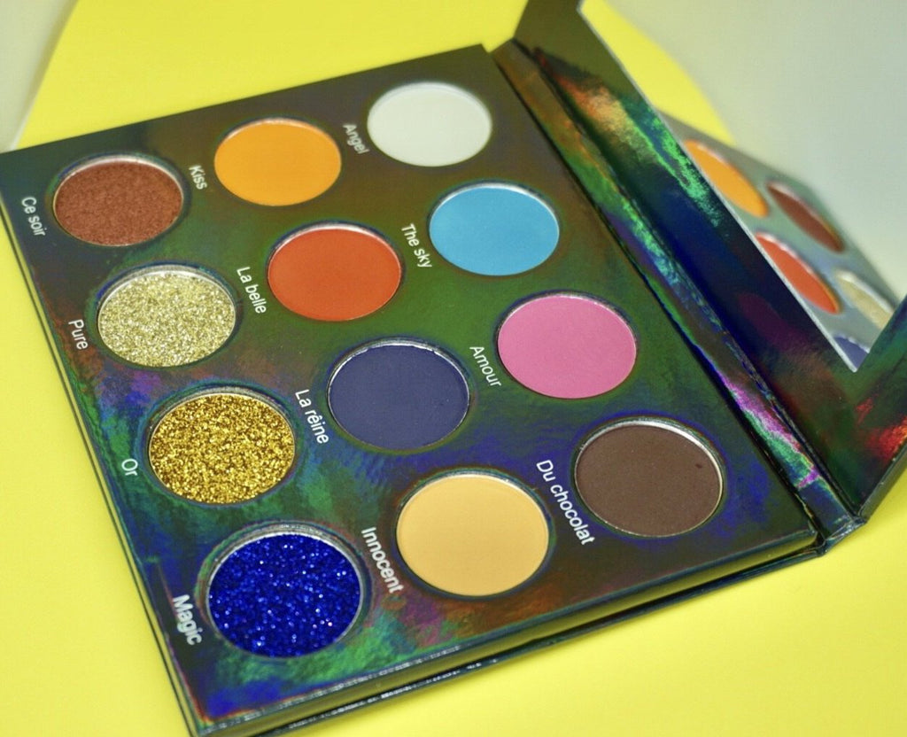 The perfect eyeshadow palette by Rood