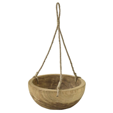 Carving Round Hanging Pot