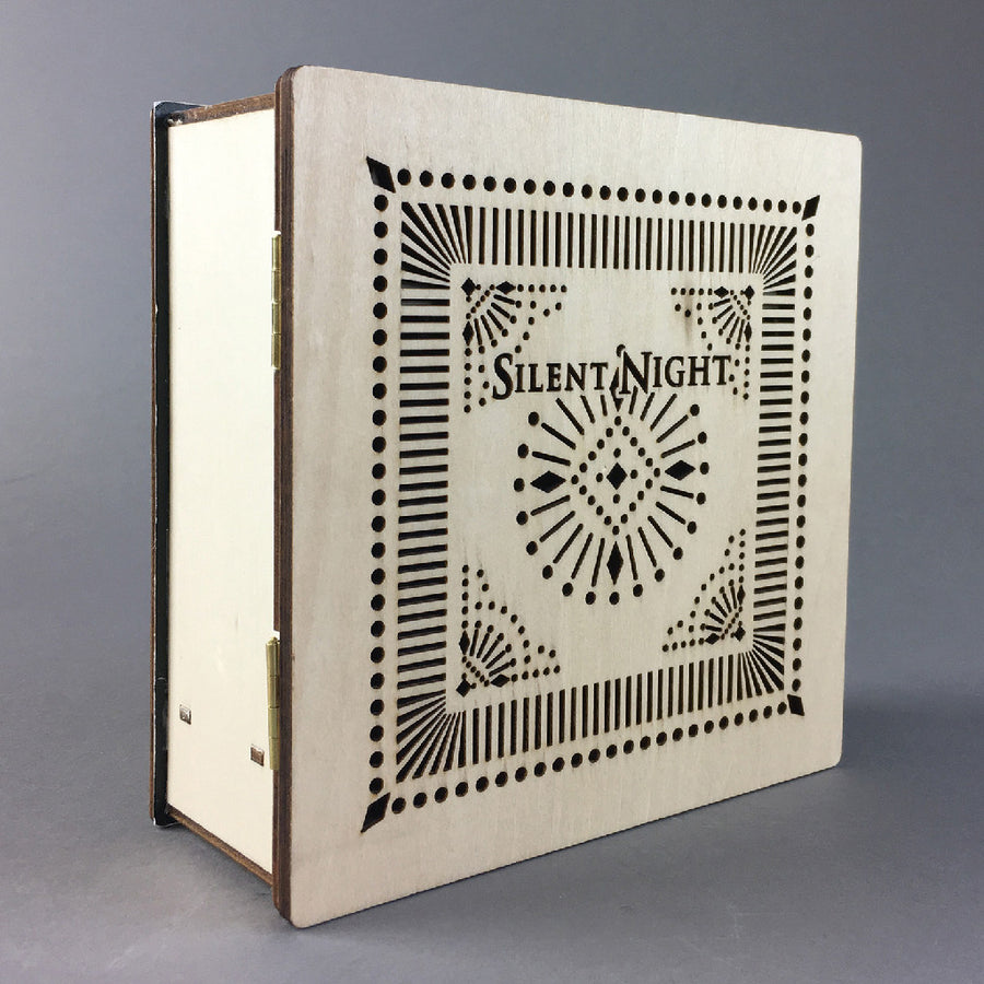 Believe Wooden LED Book Silent Night