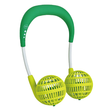 Hands-Free Wireless W Fan for Kids Ages 6 to 12 - Green