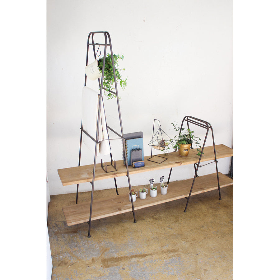 Iron Plate Stand A - Leveled